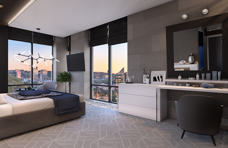 Bedroom by Room Краснодар, Minimalist