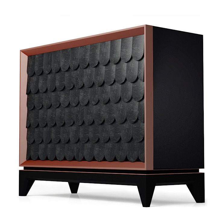 Minho Chest of Drawers di GOTO Mediterraneo Compensato