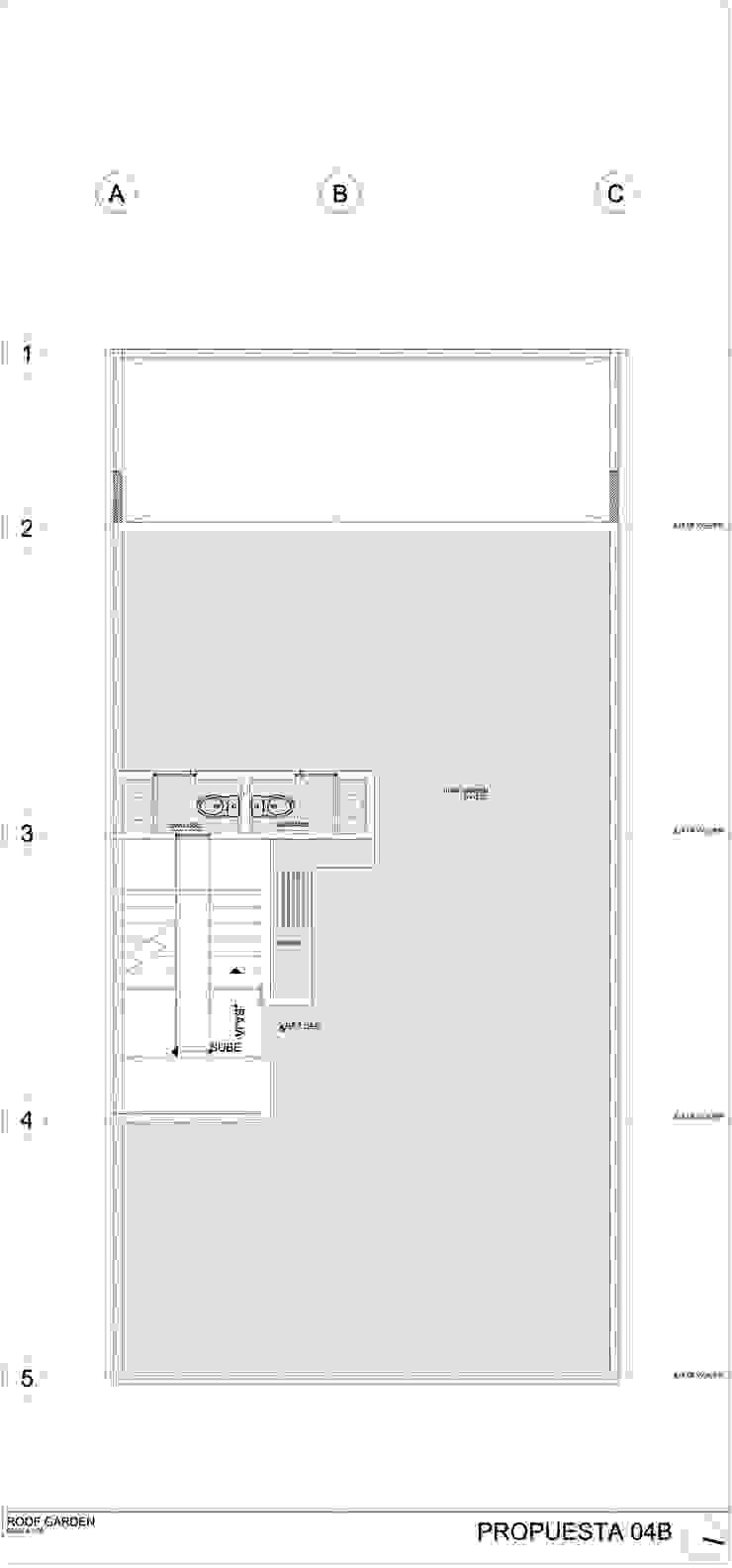COATEPEC Casas modernas de gOO Arquitectos Moderno