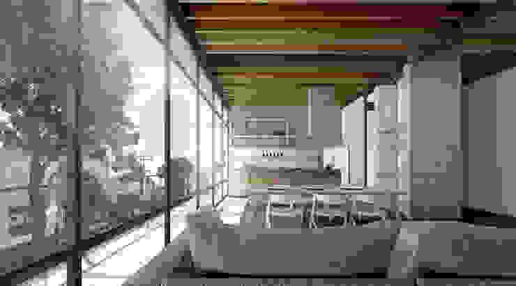 COATEPEC Cocinas industriales de gOO Arquitectos Industrial Madera Acabado en madera