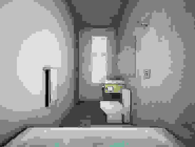 COATEPEC Baños modernos de gOO Arquitectos Moderno