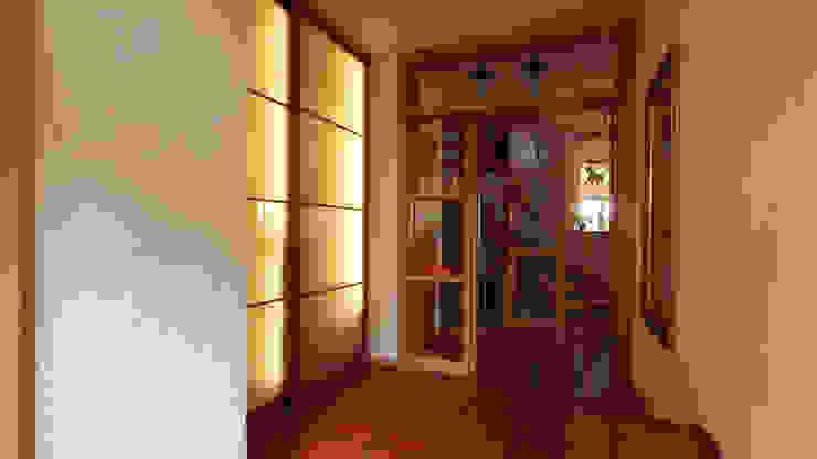 Corredores, halls e escadas modernos por Lignum Möbelmanufaktur GmbH Moderno
