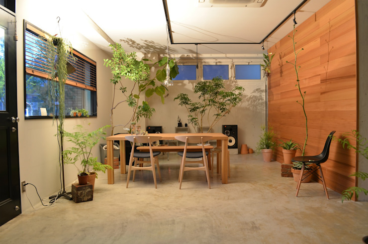 Eclectic style study/office by T's lab一級建築士事務所 Eclectic