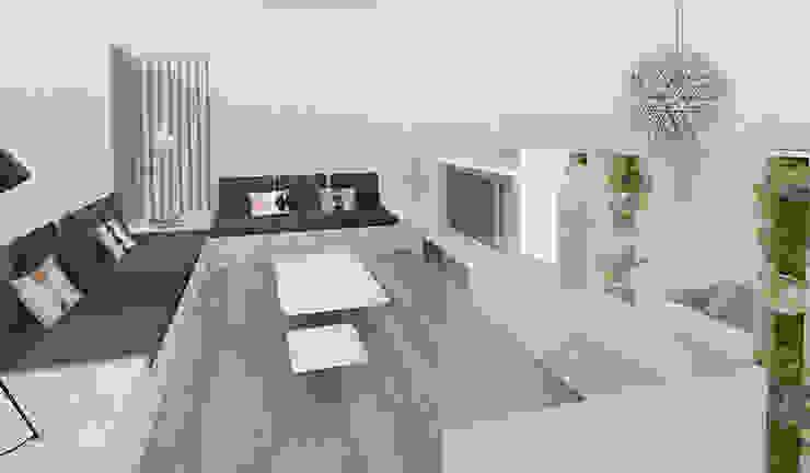 Yeme + Saunier Media room MDF White