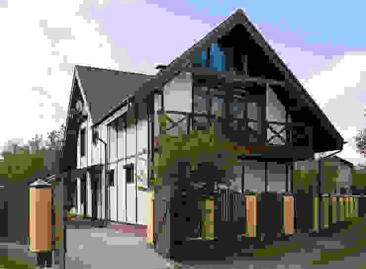 Фасад Дома в стиле кантри от Бюро9 - Екатерина Ялалтынова Кантри