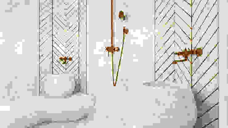 Sinan Başyazıcıoğlu Konut Modern Banyo Gümüşcü Mimarlık Modern Mermer