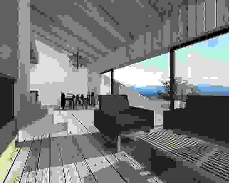 by BIG IDEA studio projektowe Industrial Wood Wood effect
