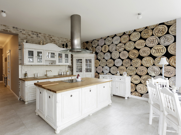 Wine Corks Modern kitchen by Pixers Modern