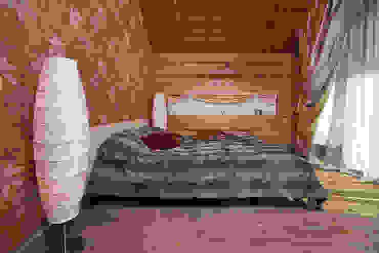 Дом в Морозово: Спальная комната  в . Автор – архитектурная мастерская МАРТ
