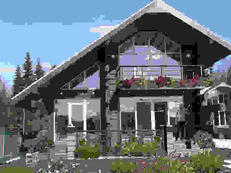 Дом в Морозово: Дома в . Автор – архитектурная мастерская МАРТ