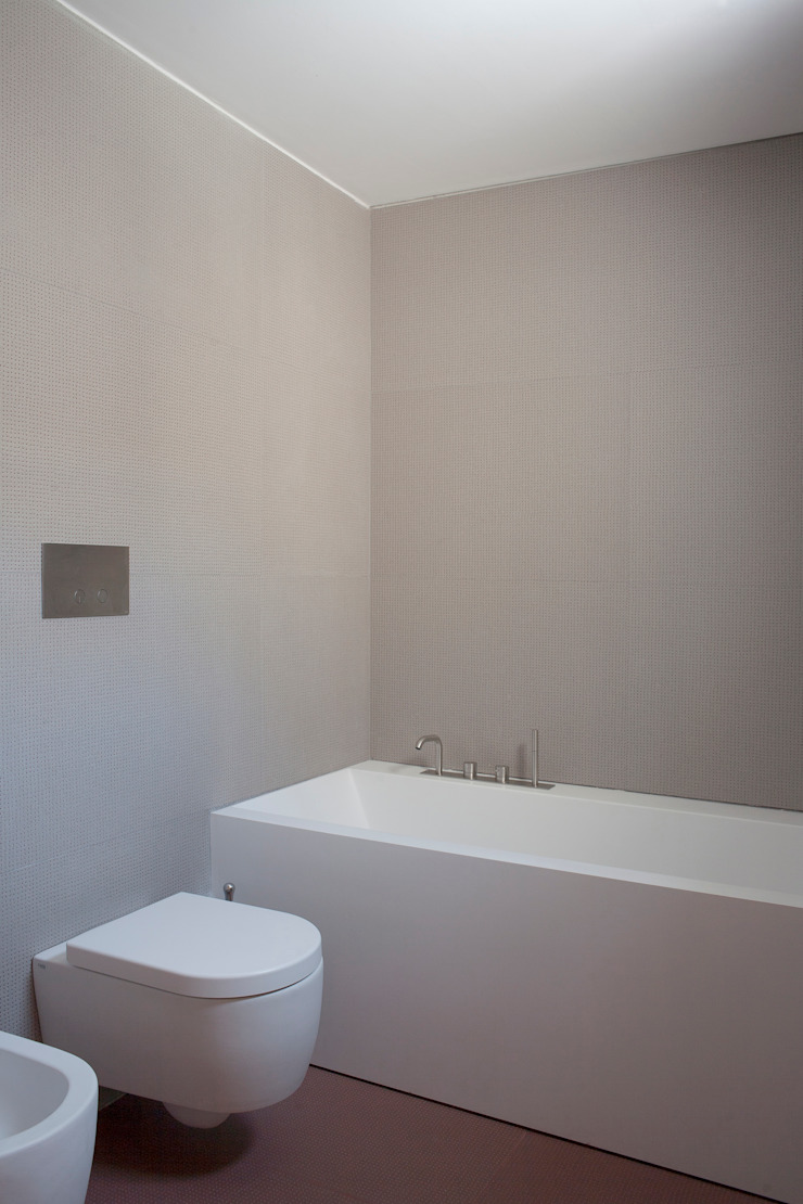 3C+M architettura Baños de estilo minimalista