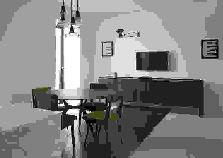 3C+M architettura Cocinas de estilo minimalista