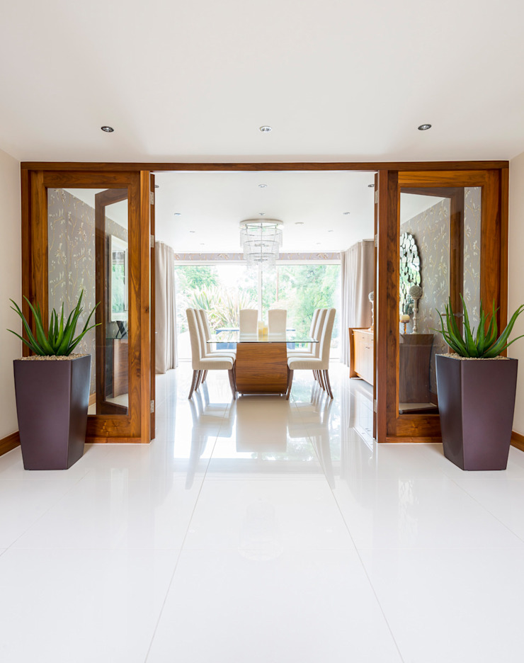 Bingham Avenue, Evening Hill, Poole Classic style dining room by David James Architects & Partners Ltd Classic