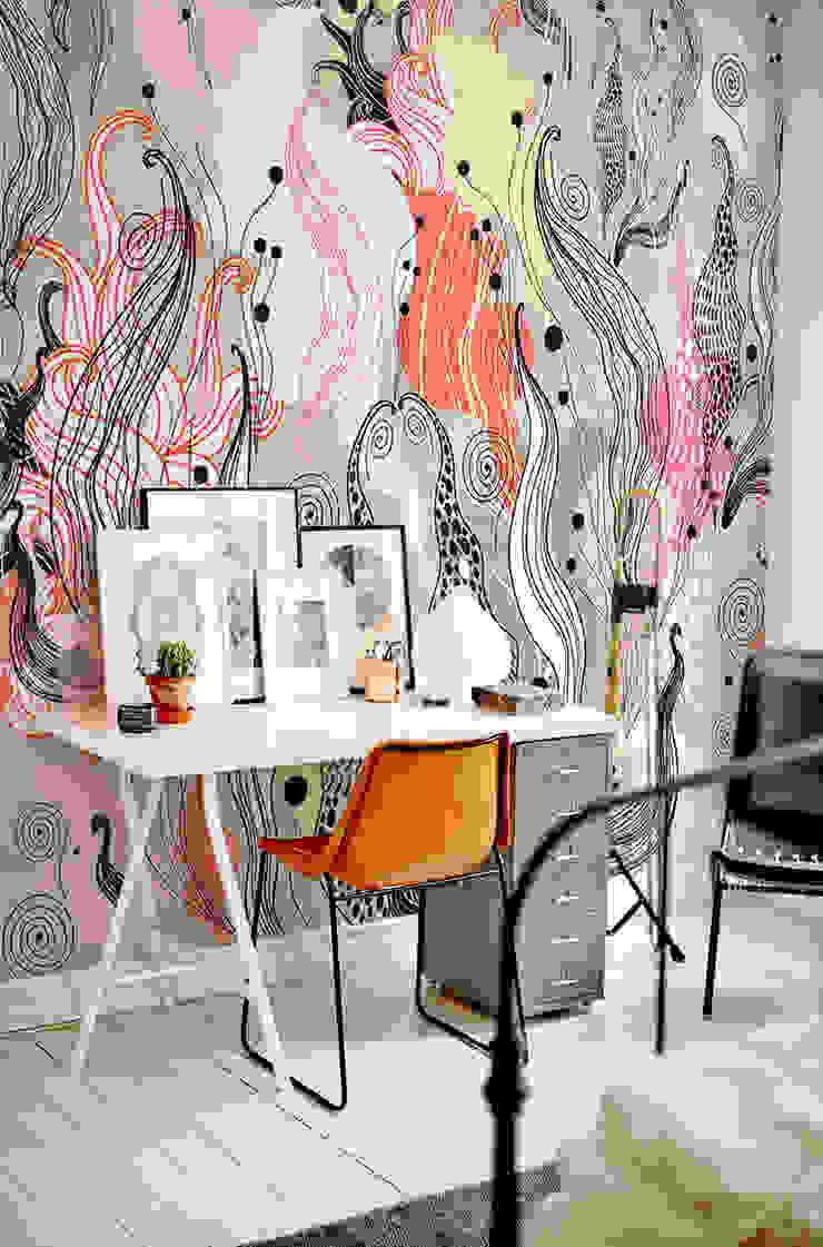 Wild flowers Pixers Modern study/office