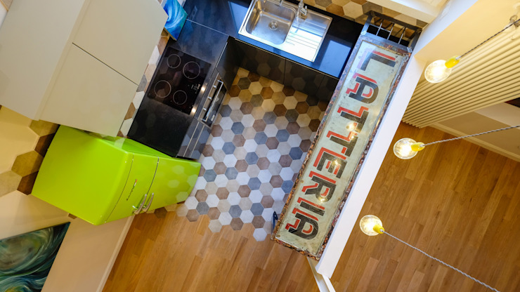 Eclectic style kitchen by Matteo Gattoni - Architetto Eclectic