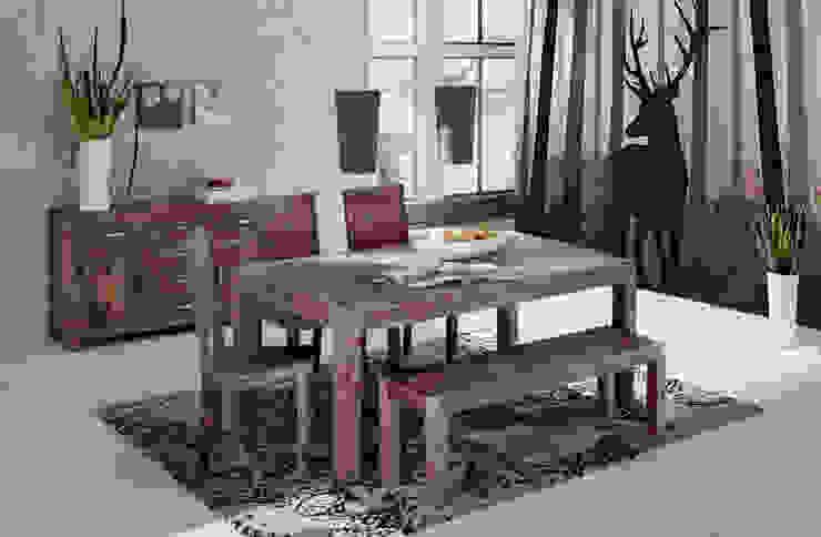 Deer Pixers Eclectic style dining room