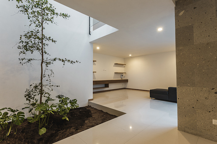 Bosques de Bugambilias Salas multimedia modernas de 2M Arquitectura Moderno