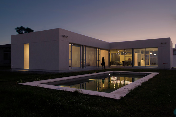 Casa 460 Casas minimalistas de reimersrisso Minimalista