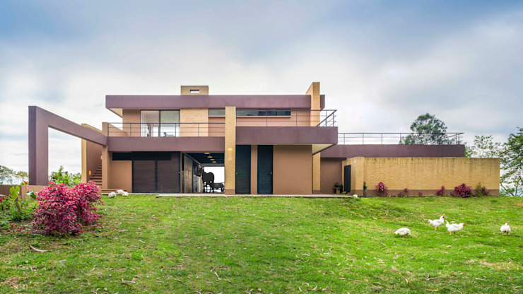 David Macias Arquitectura & Urbanismo Modern houses Red