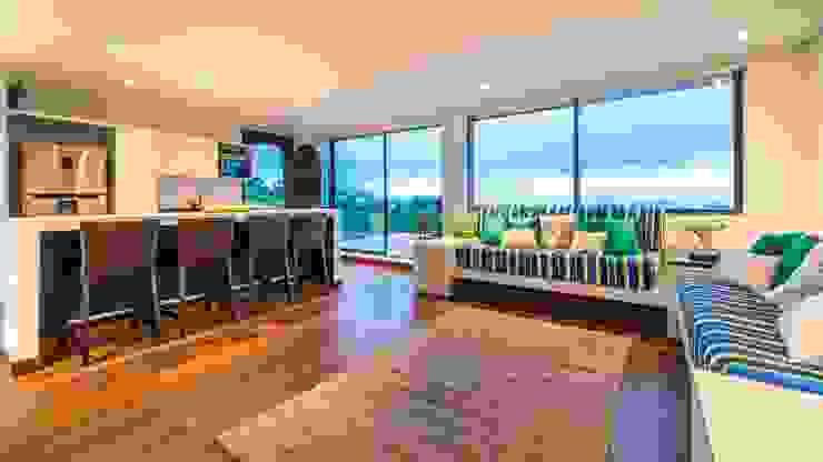 Casa del Patio Ecuestre Salas modernas de David Macias Arquitectura & Urbanismo Moderno