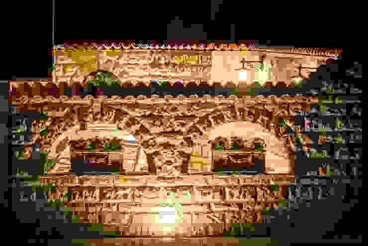Giardino in stile mediterraneo di Rimini Baustoffe GmbH Mediterraneo Cemento