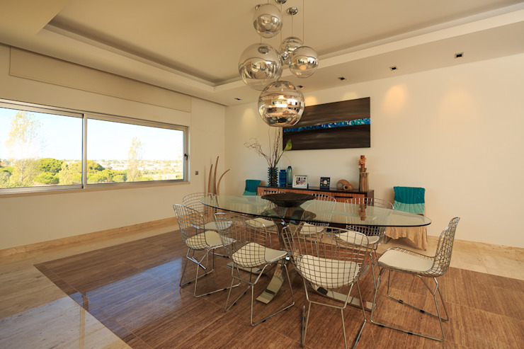 Mediterranean style dining room by Atelier Ana Leonor Rocha Mediterranean