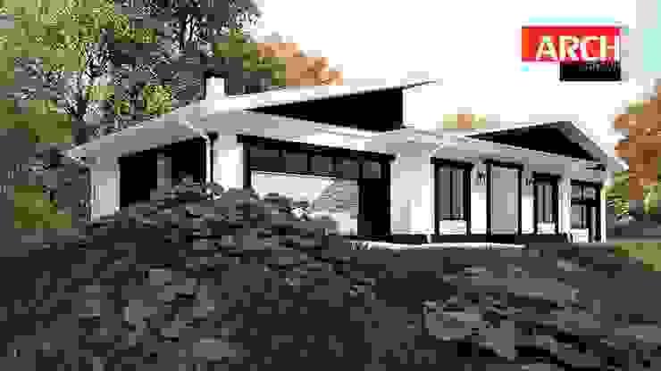 Projekty,  Domy zaprojektowane przez homify,