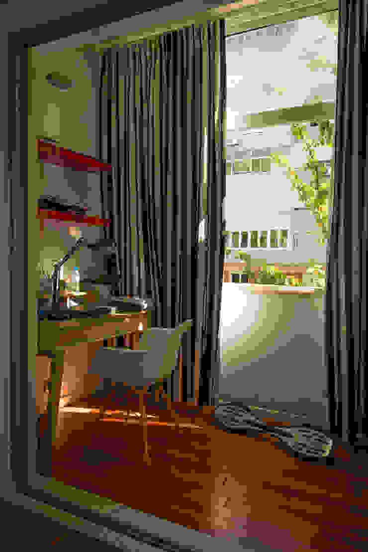 Apartamento Lisboa Quartos ecléticos por Atelier Ana Leonor Rocha Eclético