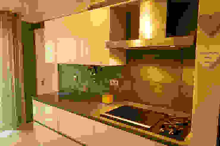 Apartamento Lisboa Cozinhas ecléticas por Atelier Ana Leonor Rocha Eclético