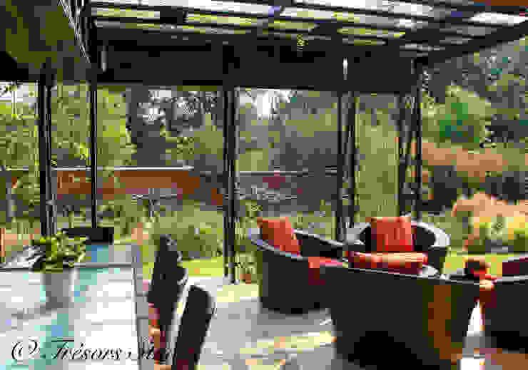 Vườn phong cách chiết trung bởi Environment Response Architecture Chiết trung