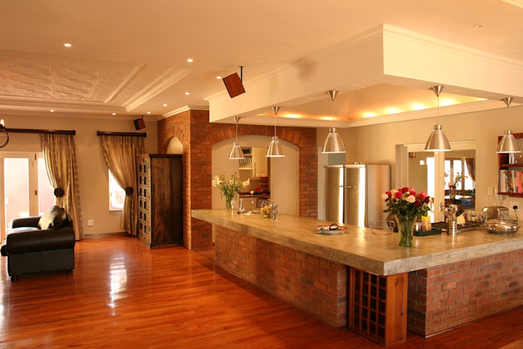 House Gover Eclectic style dining room by Environment Response Architecture Eclectic
