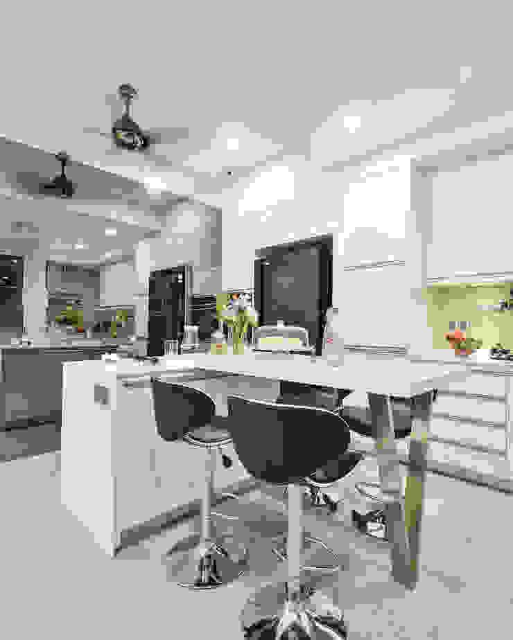 Ultramodern Loft | CONDOMINIUM Modern style kitchen by Design Spirits Modern