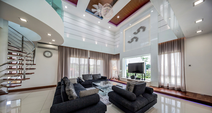 Majestic Contemporary | BUNGALOW Design Spirits Living room