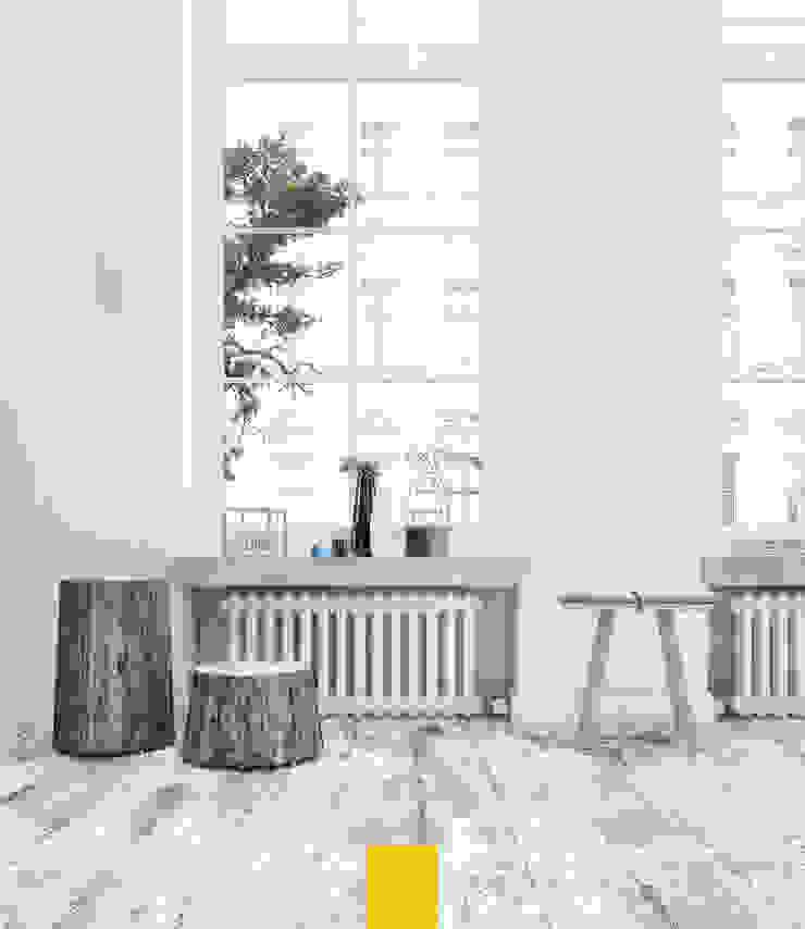 Telvin Livingroom İskandinav Oturma Odası Penintdesign İç Mimarlık İskandinav