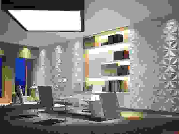 Lojas & Imóveis comerciais modernos por Twinx Interiors Moderno
