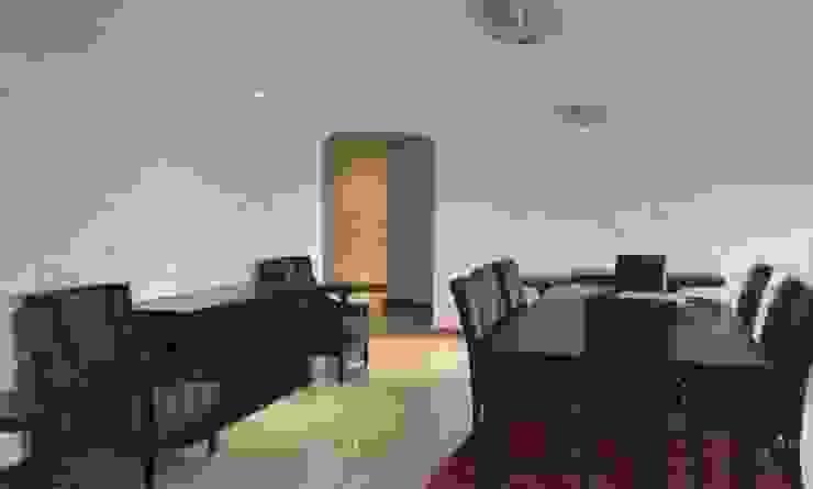 Espaces de bureaux modernes par Twinx Interiors Moderne