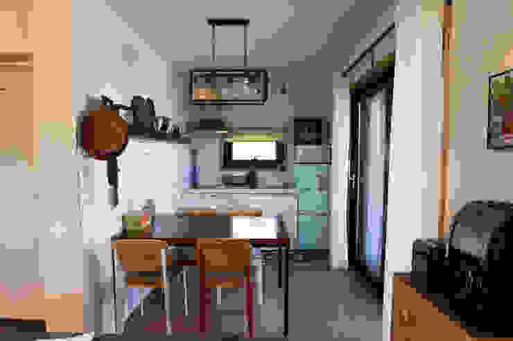 별아도 Кухня в азиатском стиле от 아키제주 건축사사무소 Азиатский