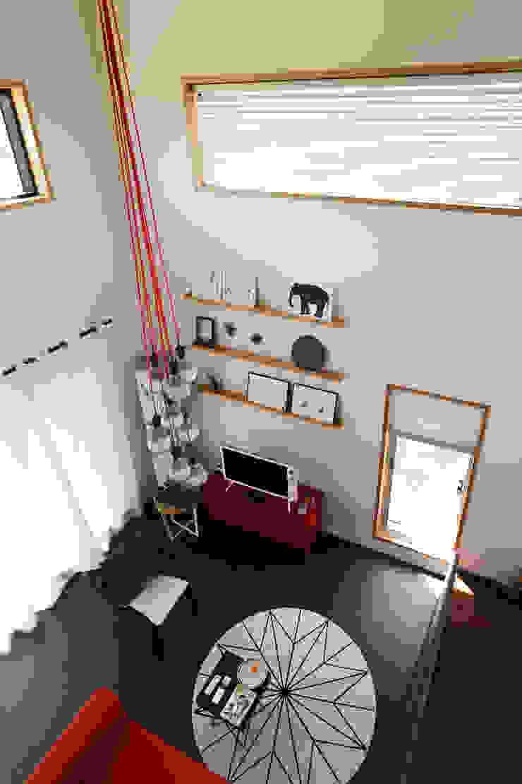 별아도 Ruang Keluarga Modern Oleh 아키제주 건축사사무소 Modern