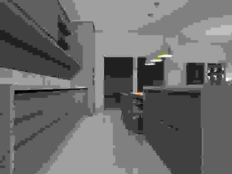 Casa SR Cozinhas modernas por MANOELA SERAFINI ARQUITETURA E INTERIORES Moderno