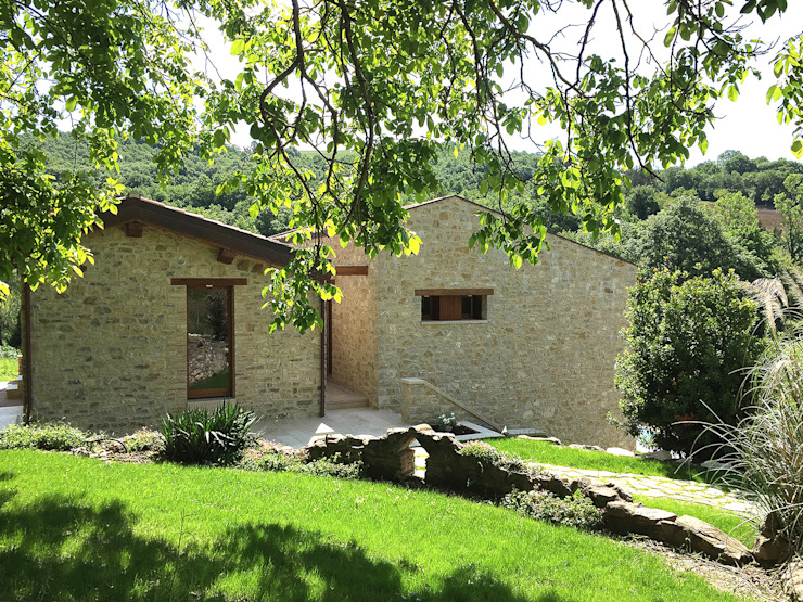 Casas rurales de Stefano Zaghini Architetto Rural