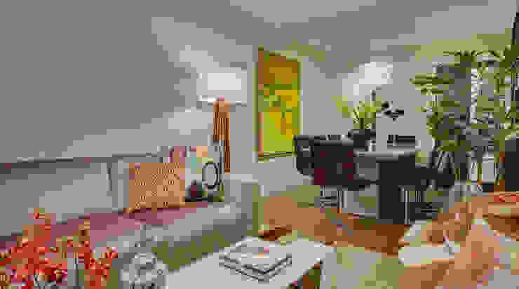 Modern Living Room by Juliana Lahóz Arquitetura Modern