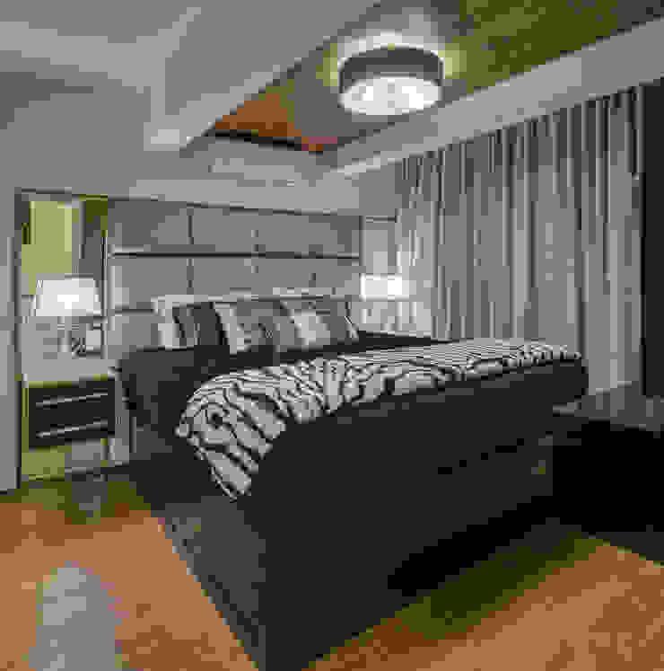 Modern Bedroom by Juliana Lahóz Arquitetura Modern
