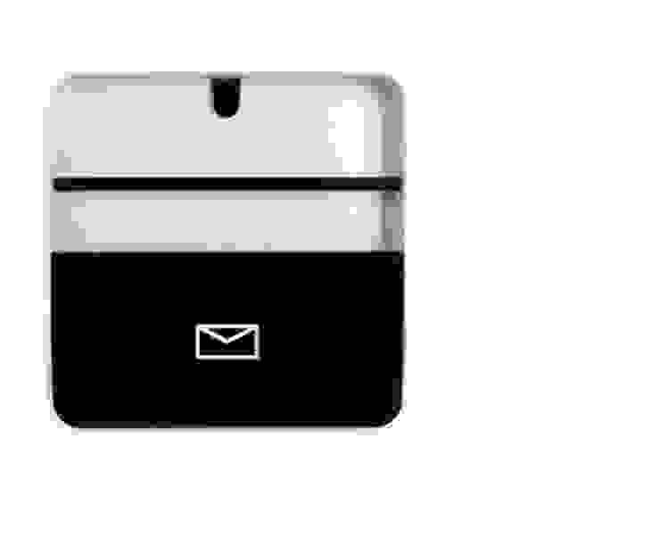 Porta Documentos Preto por Ditto Housewares Moderno Plástico