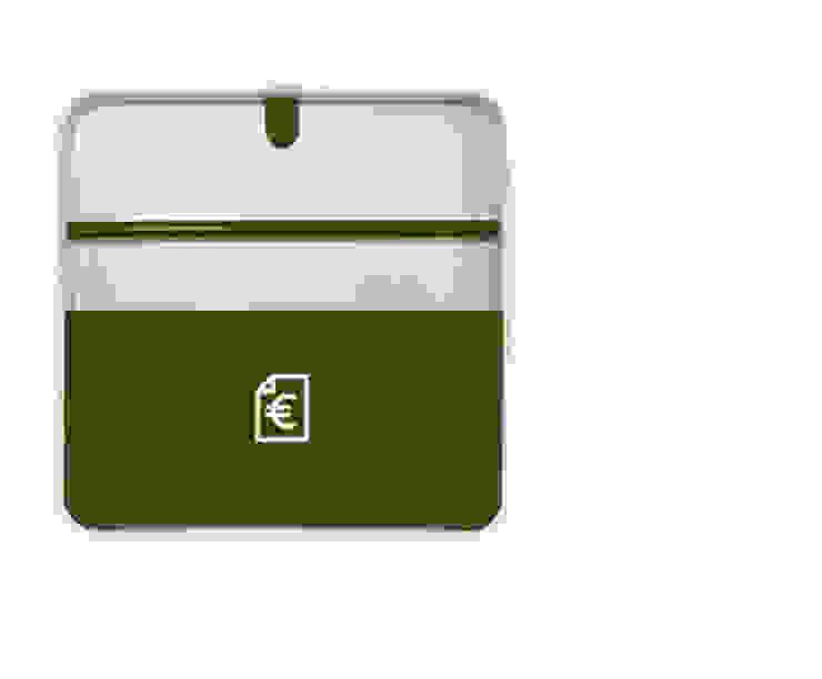 Porta Documentos Verde por Ditto Housewares Moderno Plástico
