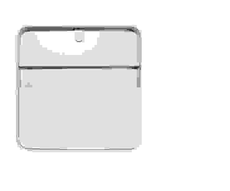 Porta Documentos Branco por Ditto Housewares Moderno Plástico