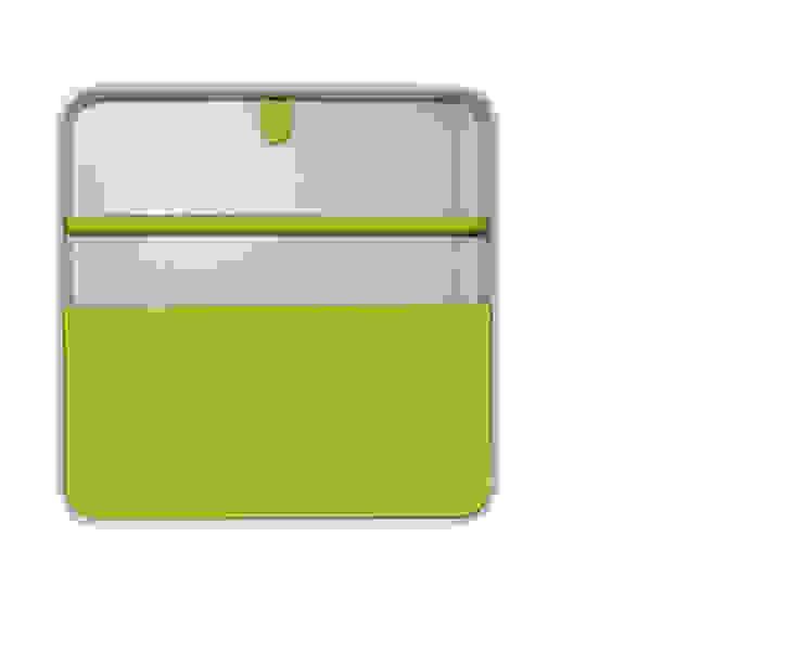 Porta Documentos Amarelo por Ditto Housewares Moderno Plástico