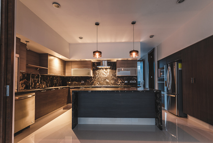 Rioja 103 Cocinas modernas de 2M Arquitectura Moderno
