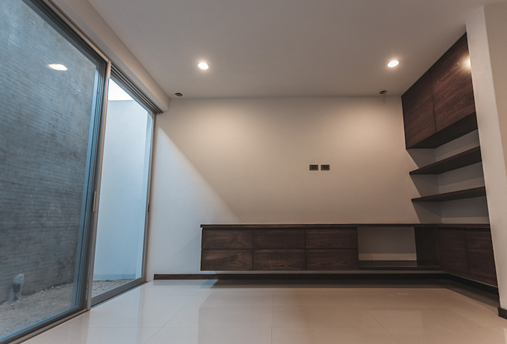 Rioja 103 Salas multimedia modernas de 2M Arquitectura Moderno