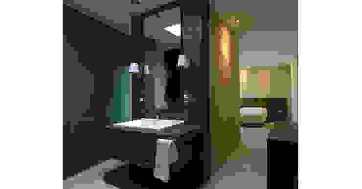 Minimal style Bathroom by lab d arquitectura Minimalist
