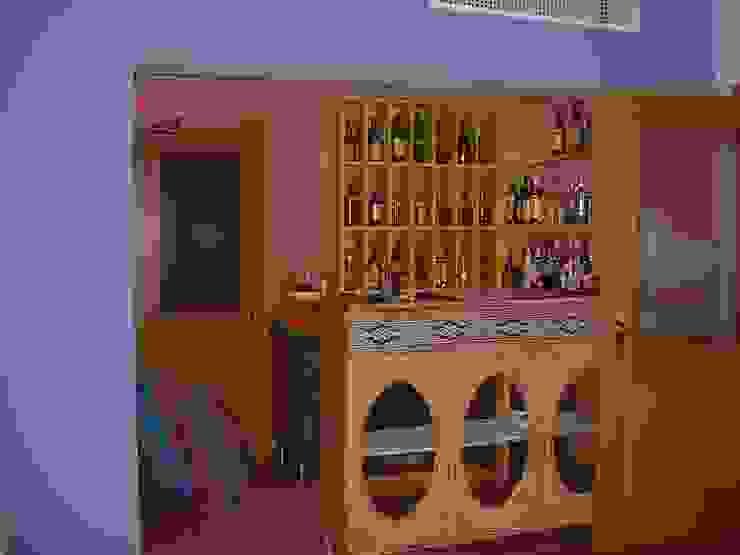 Restaurante Clube Casa Do Castelo,balcão Espaços de restauração mediterrânicos por Atelier Ana Leonor Rocha Mediterrânico
